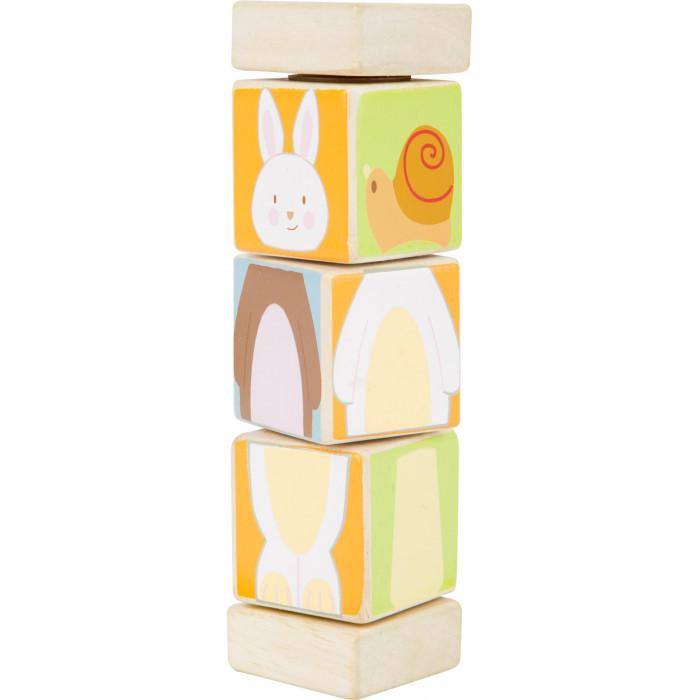 Le Totem-cubes des Animaux