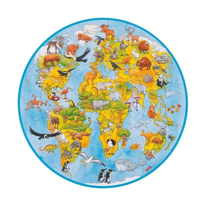 Le grand puzzle du Monde