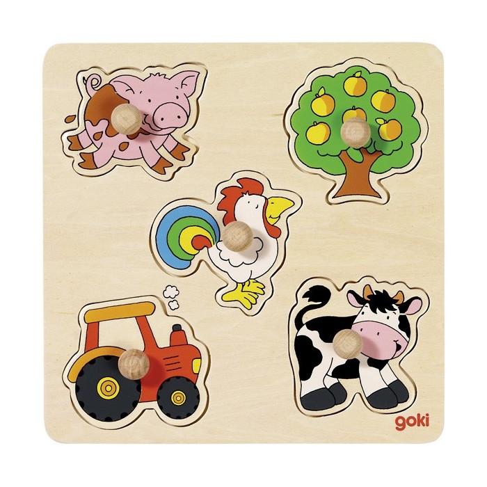 Puzzle 1 age thème campagne