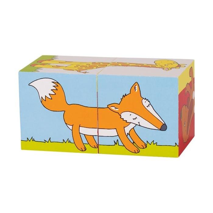 Les Animaux en cube
