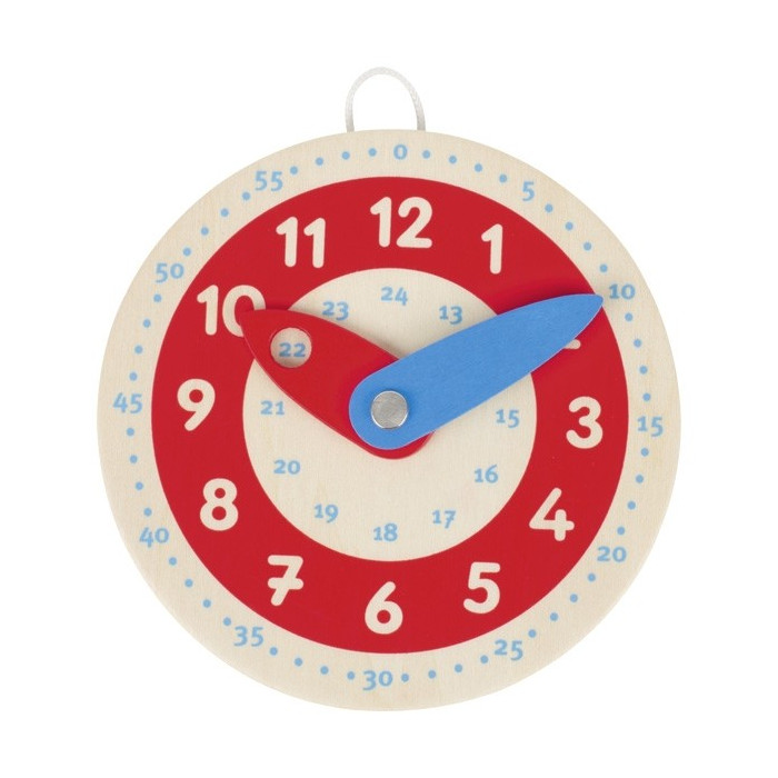 Mini horloge, apprendre à...