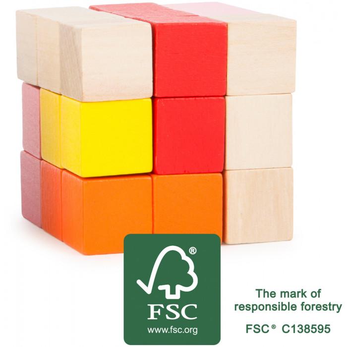 LE cube a reconstruire en bois