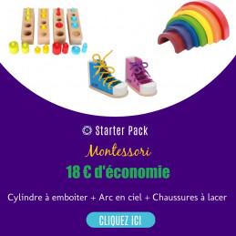 Starter pack Montessori 3/4...